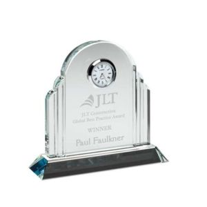 GLASS ARCHED CLOCK Thumbnail
