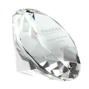 DIAMOND SHAPED PAPERWEIGHT Thumbnail