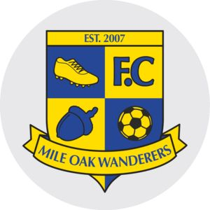 Mile Oak Wanderers FC - Domed  Thumbnail