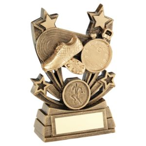 Shooting Star Series Athletics Trophy  - 4In Thumbnail